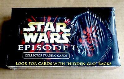 "Ikon  ""Star Wars Episode 1""  Sealed Box Of 36 Packs Of Trading Cards"