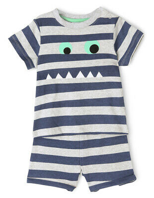 NEW Sprout Boys Essential Pyjama Set Navy