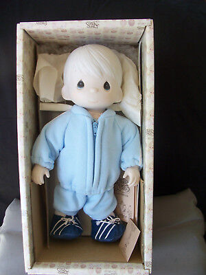 Precious Moments Baby Boy Doll Timmy By Jonathan & David NEW in BOX