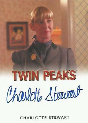 "Twin Peaks - Charlotte Stewart ""Betty Briggs"" Classic Autograph Card"