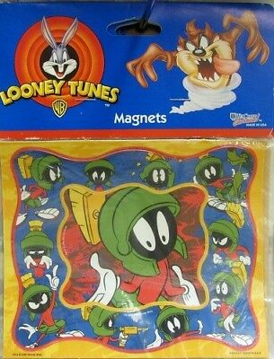 Marvin the Martian Magnets Set of 2 RARE Looney Tunes Collectible Made in USA