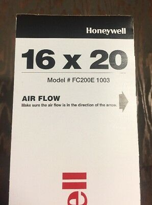 Honeywell 16X20 Merv 13 Charged-Media Air Filter Fc200E1003