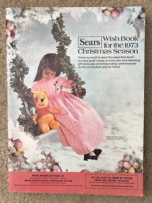 Rare 1973 Vintage Sears Wish Book For The Christmas Season- Barbie Ads Etc.