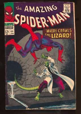 Amazing Spider-Man (1963 series) #44 in Very Good + condition. Marvel comics