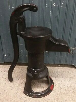 Red Jacket #2 Cast Iron Hand Well Pump Davenport Iowa
