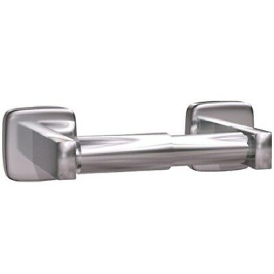 Asi 7305-B Single Surface Mounted Toilet Paper Holder, Stainless Steel