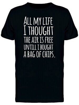Air Is No Longer Free Tee Men's -Image by Shutterstock