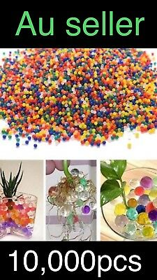 10,000pcs Orbeez Mixed Colours Crystal Water Plant Beads Bio Hydro Gel Ball TOY