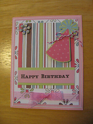 Purrfect Birthday Handmade Embellished Greeting Card By Talking Pictures Cards