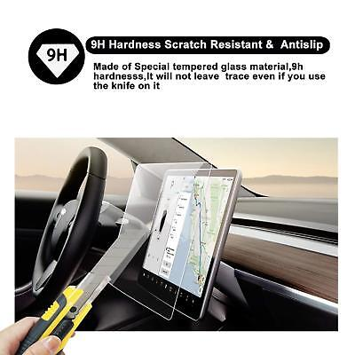 RUIYA Tesla Model3 15In HD Clear Tempered Glass Car Navigation Screen Protector
