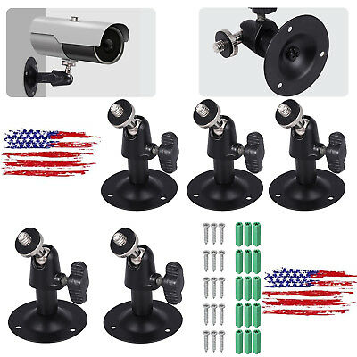 5PCS Camera Wall Ceiling Mount Bracket Stand Holder For CCTV Security Monitor