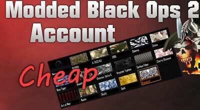 BO2 Modded Account/Recovery (XBOX ONE, XBOX 360)