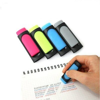 2pcs Creative Ink Erasers Eraser Cute Erasable Rubber Kawaii Students Stationery