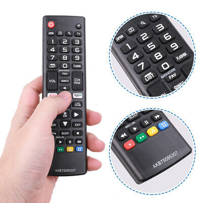 US New TV Remote Control Replacement AKB75095307 for LG LCD OLED UHD Smart HDTV