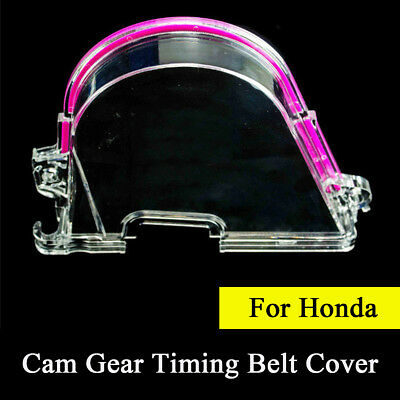 Clear Cam Gear Timing Belt Cover Turbo Cam Pulley For Honda Civic 96-00 D15 D16