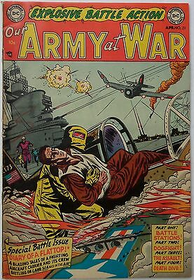 Our Army at War #21 (Apr 1954, DC), VFN-NM condition