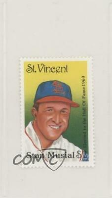 1992 St Vincent Hall of Fame Heroes Stamps #STMU Stan Musial St. Louis Cardinals