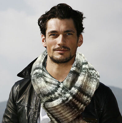 """SCARF KNIT HAND GIFT MENS WOMENS FOR FALL/WINTER Long 72""""x9""""  614"""