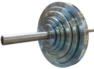 Strength Shop Extra Slim Zinc Steel Olympic Plate  - 0.5-25kg pairs and sets