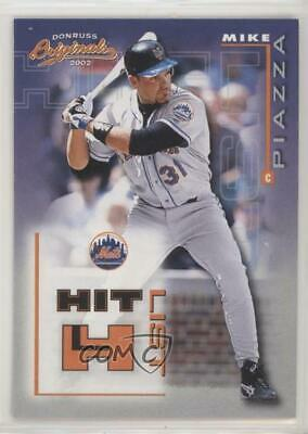 2002 Donruss Originals Power Alley/1500 #PA-9 Mike Piazza New York Mets Card Sports Trading Cards & Accessories