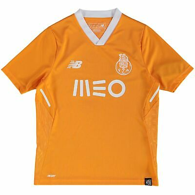 Official FC Porto Football Away Shirt Jersey Tee Top 2017/18 Kids New Balance