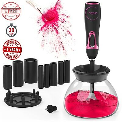 Makeup Brush Cleaner and Dryer Machine Kit I Professional Electric Brushes Clean