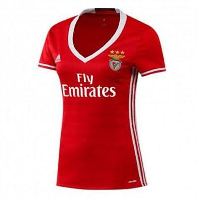 adidas Performance Womens Benfica Home Football Jersey (AI8092)