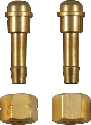 BSP Nut 3/8  with 5/16 8MM Tail for Gas Hose CHOOSE LEFT HAND OR RIGHT HAND