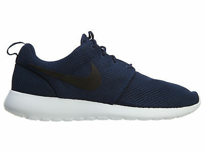 detailed look 91faa b88a4 NIKE ROSHE ONE Mens 511881-405 Midnight Navy Blue Mesh Running Shoes Size 9