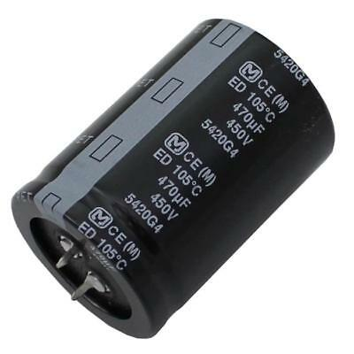 Snap-In Electrolytic Capacitor 470µF 450V 105°C ; EETED2W471LJ ; 470uF