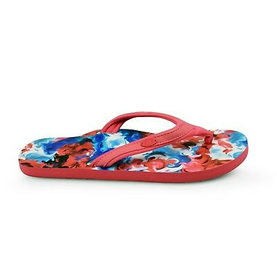 e4ce24ec2e8c41 Animal® Swish Slim AOP Women s Multi Flip Flops Sandals Brand New on Sale