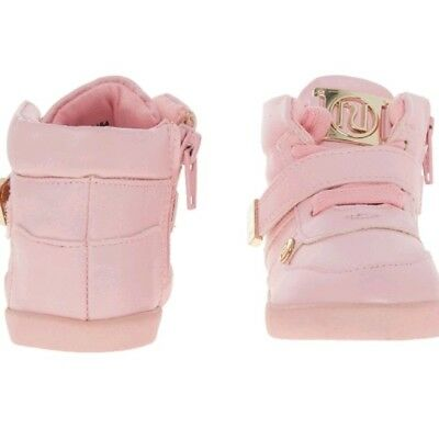 RIVER ISLAND Pink High Top Trainers Girls Trainers Christmas Gift for kids