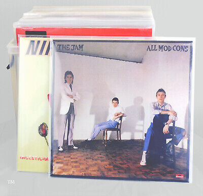 """80 x 12"""" Inch Album Record Sleeves LP Outer Covers 520g Gauge"""