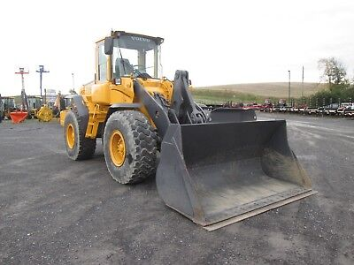 Volvo L90E Used Farm Tractor Wheel Loader 4X4 Aritculating