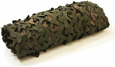 7 x 3.6ft Woodland Camouflage Shooting Stealth Pigeon/Bird Hunting Hide Netting