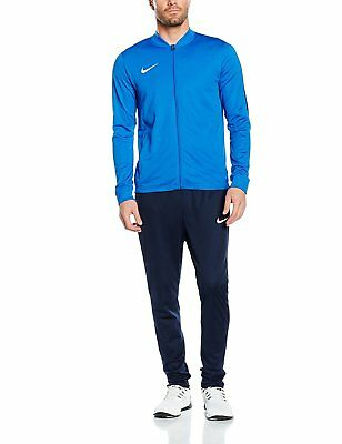 532725363441c Nike Mens Academy 16 Polyester DRI FIT Tracksuit Blue New Full Suit  808757-463
