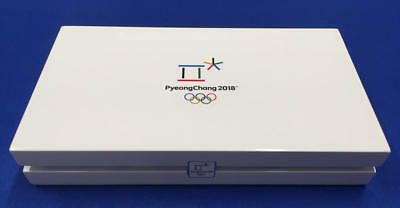 Official PyeongChang 2018 Winter Olympic 7 Piece Silver Set