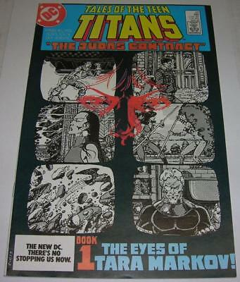 TALES OF THE TEEN TITANS #42 (DC Comics 1984) JUDAS CONTRACT (FN/VF) NIGHTWING