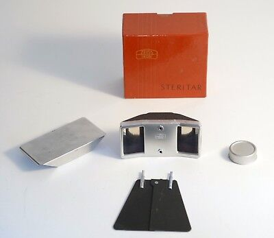 Vintage Zeiss Contaflex I and II Steritar 812 Stereo Beam Splitter Adapter. BOXE