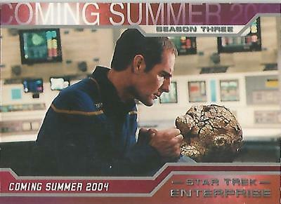 Star Trek Enterprise Season 3 - P2 Non-Sport Update Promo Card