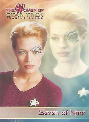 "Women of Star Trek - P1 ""Seven of Nine"" Promo Card"