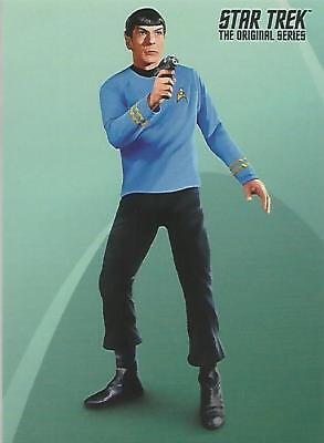 Star Trek Original Series TOS Portfolio Prints: P2 Non-Sport Update Promo Card