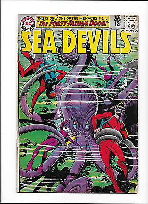 "Sea Devils #21  [1965 Gd]  ""the Forty-Fathom Doom!"""