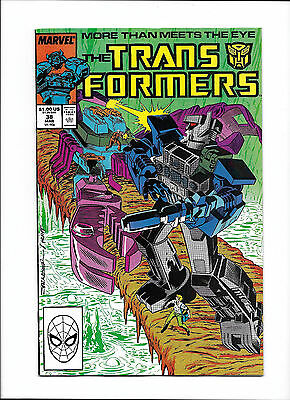 "Transformers #38  [1988 Vf-]  ""trial By Fire!"""