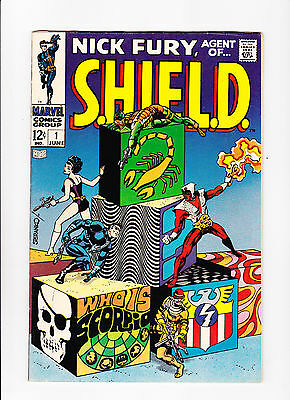 Nick Fury, Agent Of S.h.i.e.l.d.  No.1  :: 1968 ::   :: Steranko Art! ::