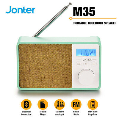 Mini Altavoz Bluetooth Portátil Inalámbrico Radio AUX/TF/FM/USB Android/iPHONE