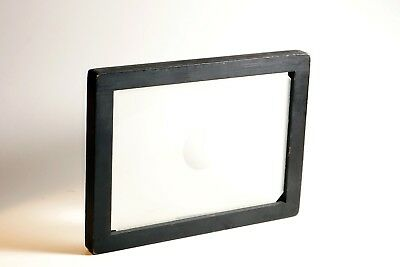 5x7 Ground Glass Focusing Screen for Large Format Camera With Wooden Frame