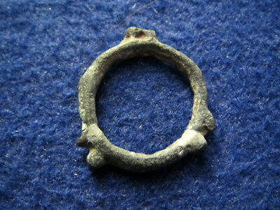 Circa 400-100 BC Celtic Ring - Danubian Provinces - Free U S Shipping