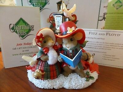 Charming Tails We Wish You a Merry Christmas 98/513 RARE Box & Tag Display Only