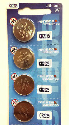 CR 2025 RENATA WATCH BATTERY (5 piece) ECR2025 FREE SHIPPING Authorized Seller
